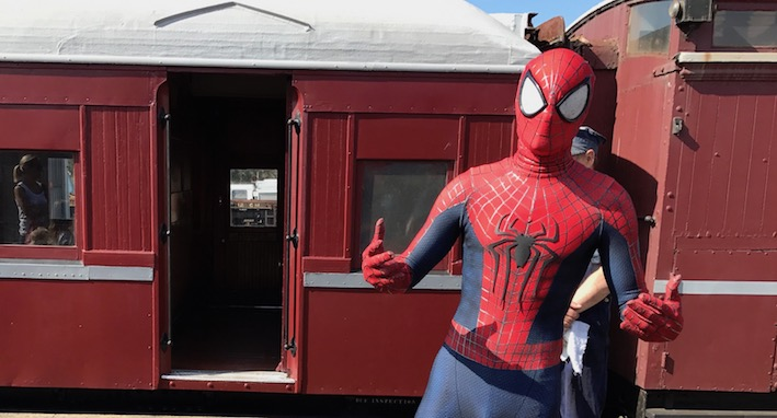 Mornington Railway - Spiderman